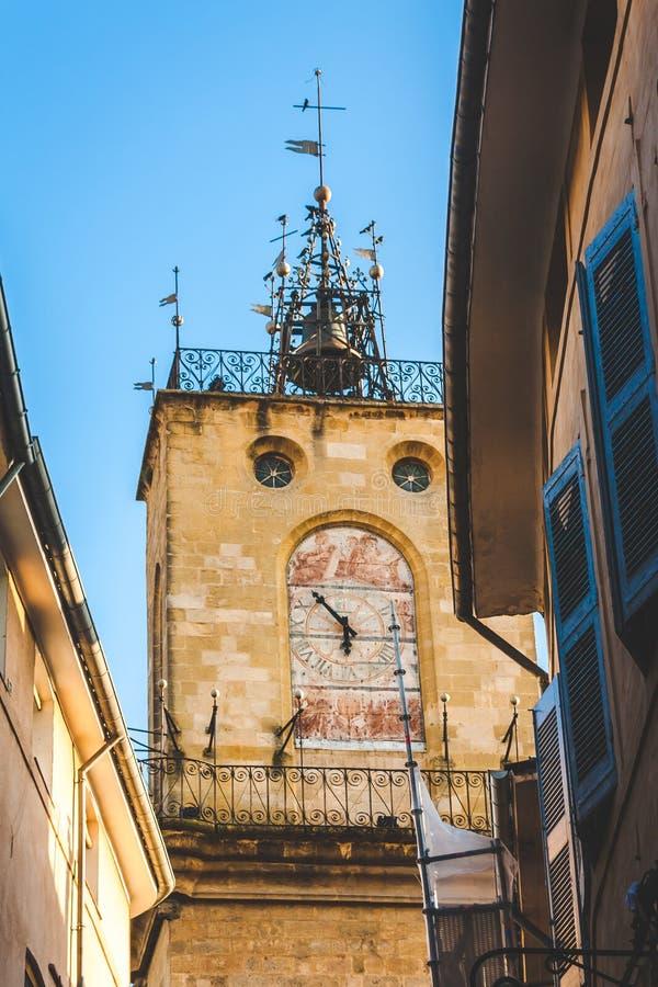 Tour de Bell à Aix-en-Provence photographie stock libre de droits