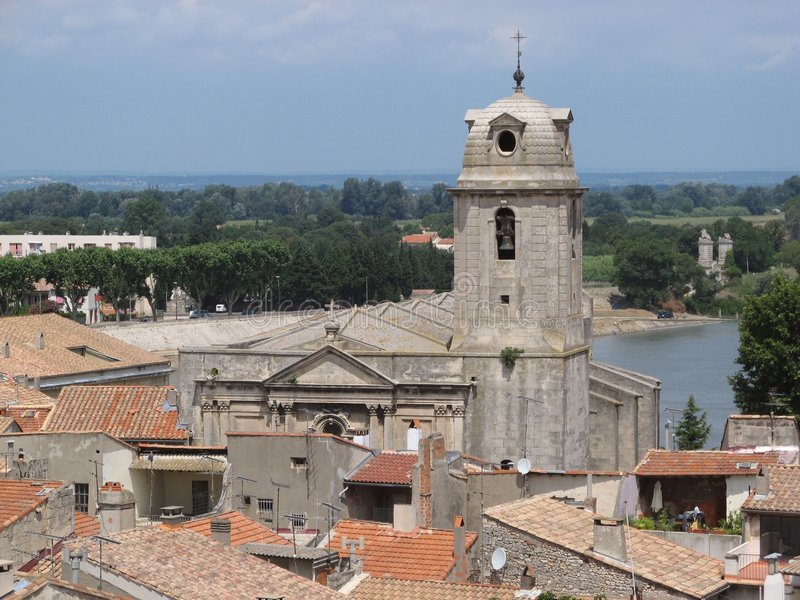 Tour de Bell dans Arles photos stock