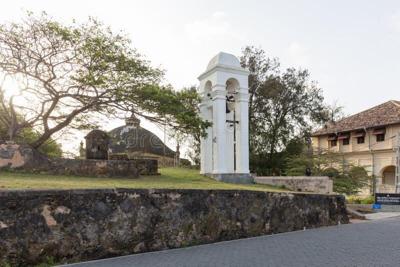Tour de Bell dans le fort de Galle, Sri Lanka photo stock