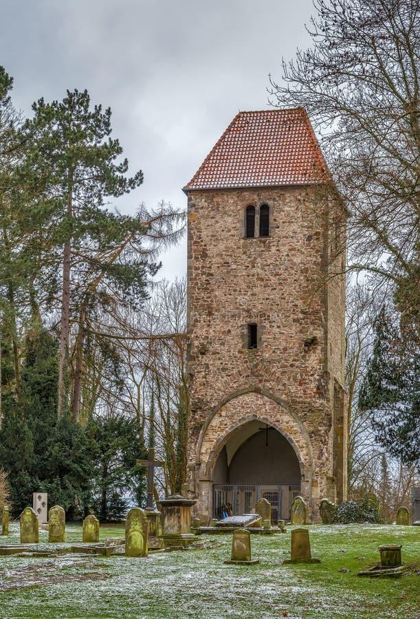 Tour de Bell dans Lemgo, Allemagne photos stock