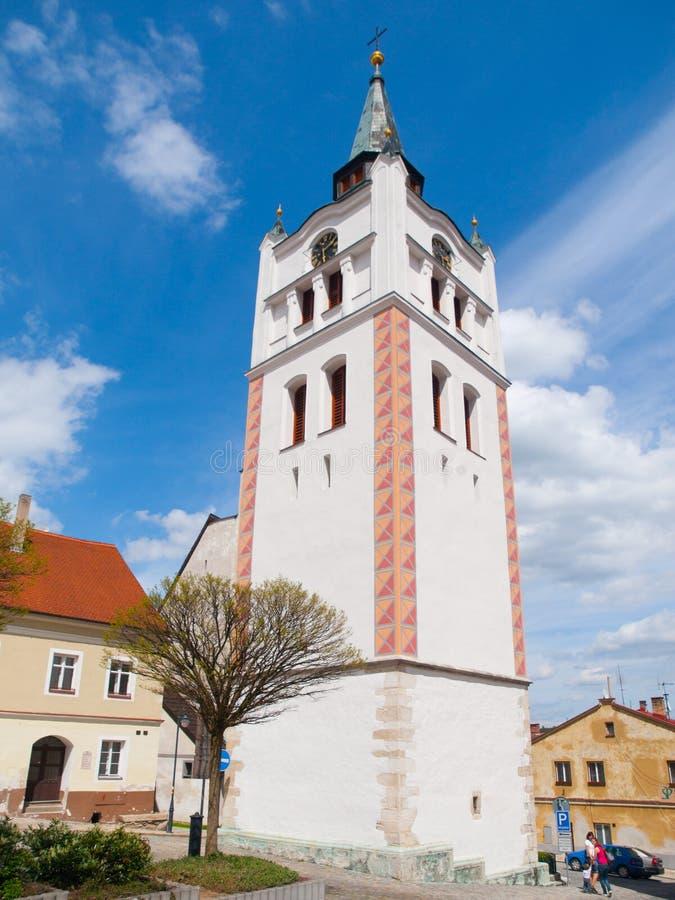 Tour de Bell dans Vimperk photos stock