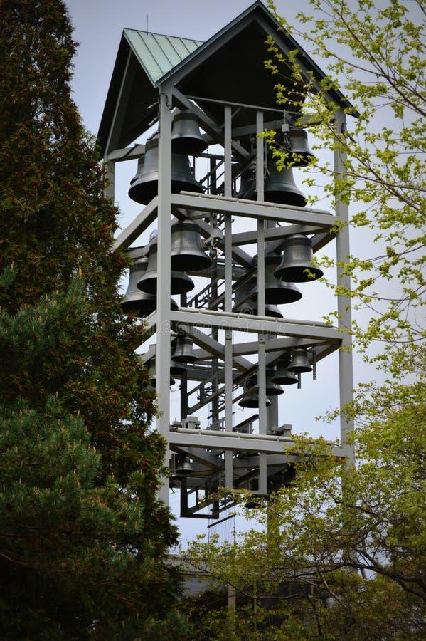 Tour de Bell de carillon images stock