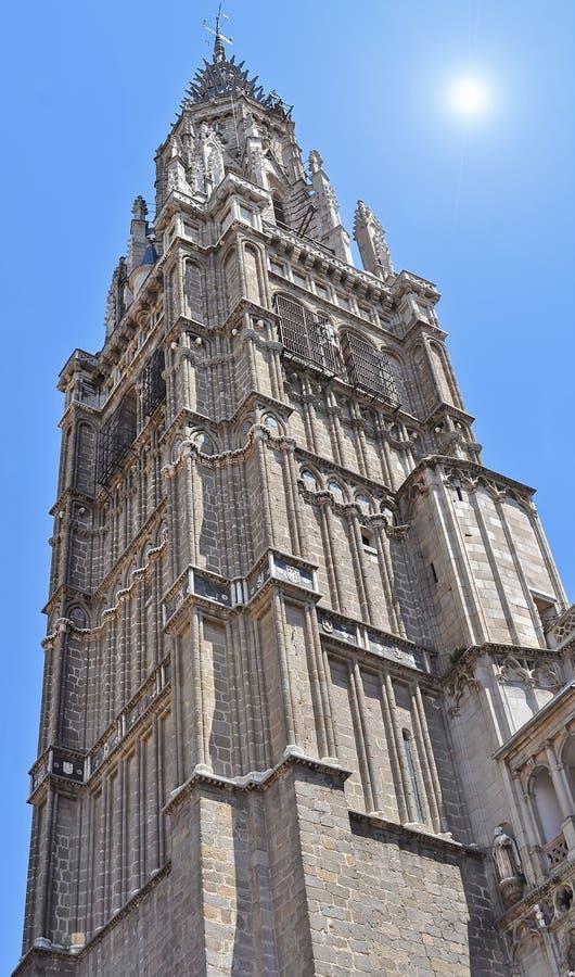 Tour de Bell de cathédrale de Toledo photo stock