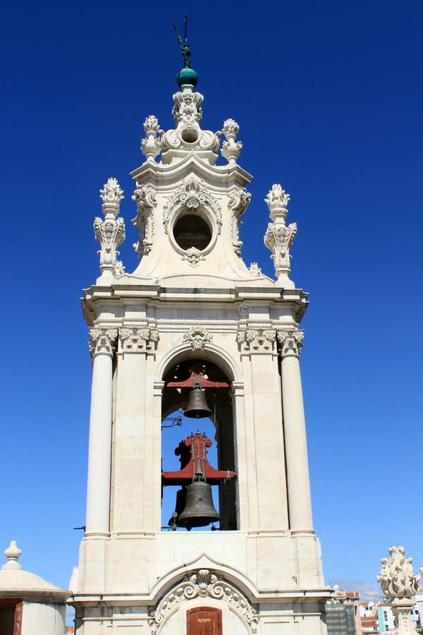 Tour de Bell de la basilique DA Estrela photo libre de droits