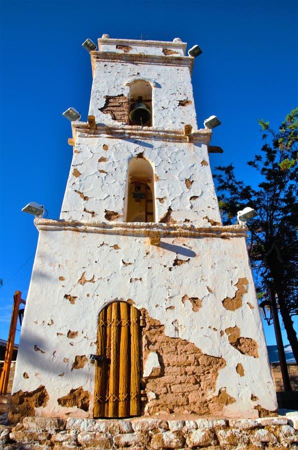 Tour de Bell de Toconao photos libres de droits