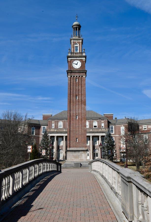 Tour de Bell de lycée de Withrow image libre de droits