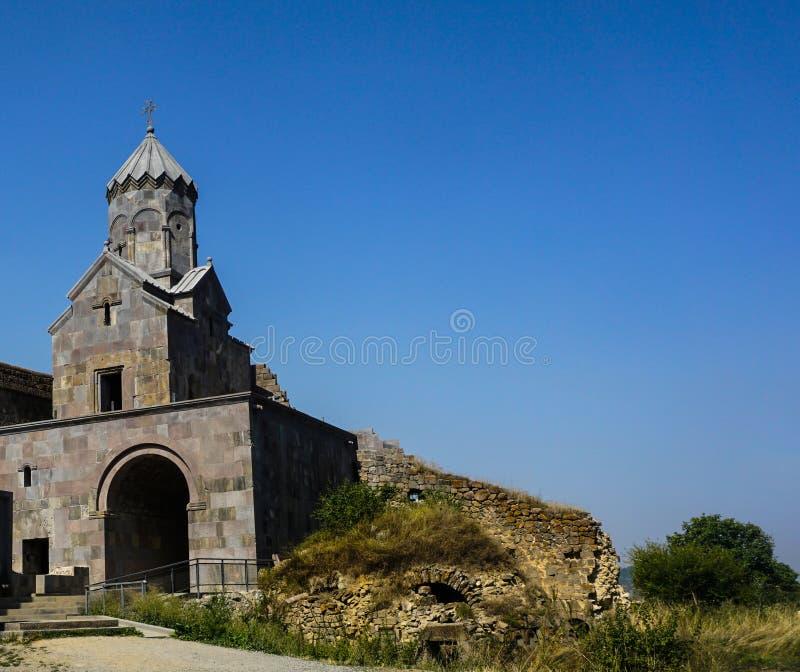 Tour de Bell de monastère de Tatev image libre de droits