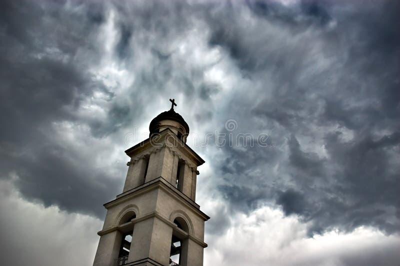 Tour de Bell sous le ciel excessif photo stock