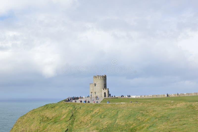 Tour de Briens de ` d'O, comté Clare, Irlande images stock