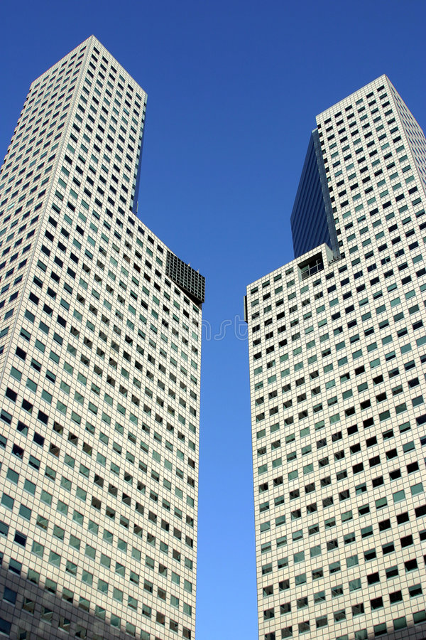 tour de bureau de 45 étages, ville de Suntec, Singapour photos stock