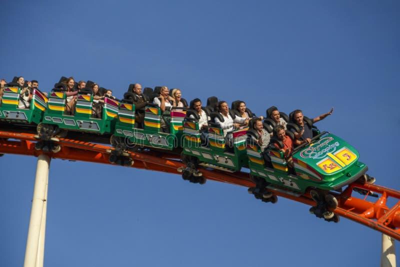 Tour de caboteur d'Olympia Looping Roller chez Oktoberfest à Munich, GE images libres de droits