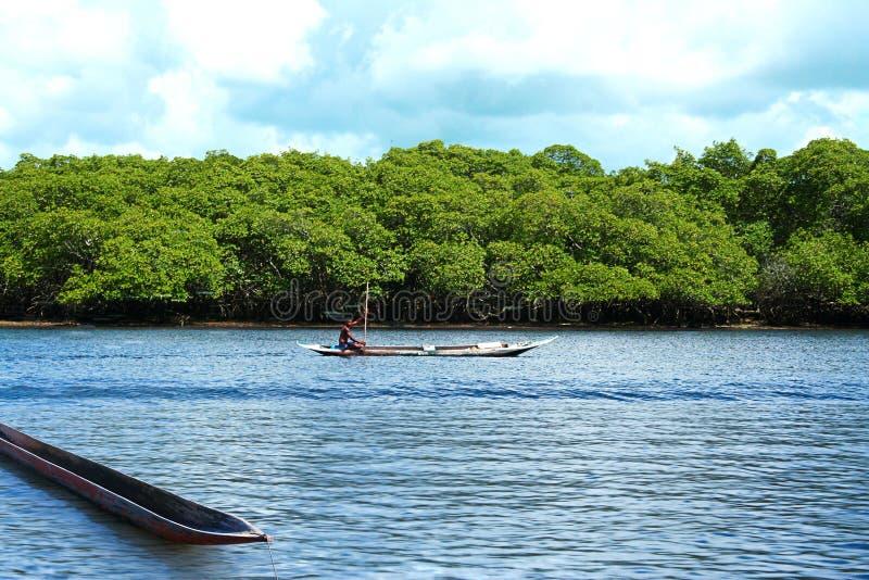 Tour de canoë photos stock