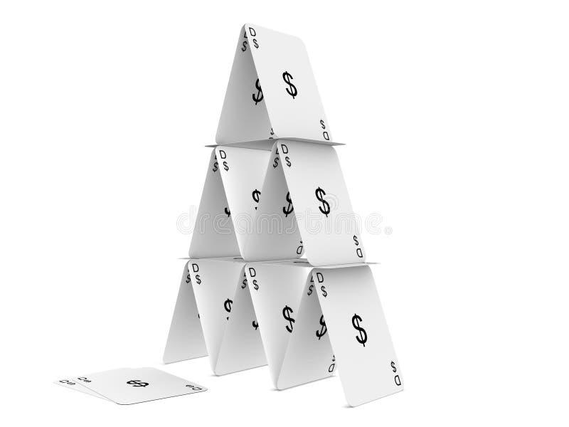 tour de carte du dollar sur le fond blanc illustration stock illustration du economics. Black Bedroom Furniture Sets. Home Design Ideas