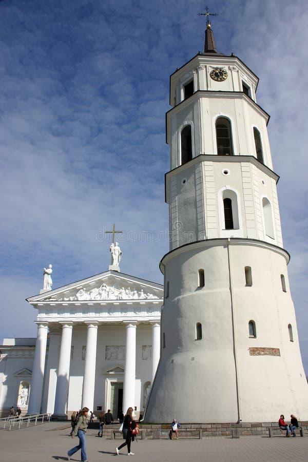 Tour de cathédrale photos libres de droits