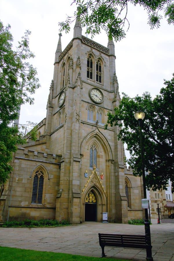 Tour de cathédrale de Blackburn photos stock