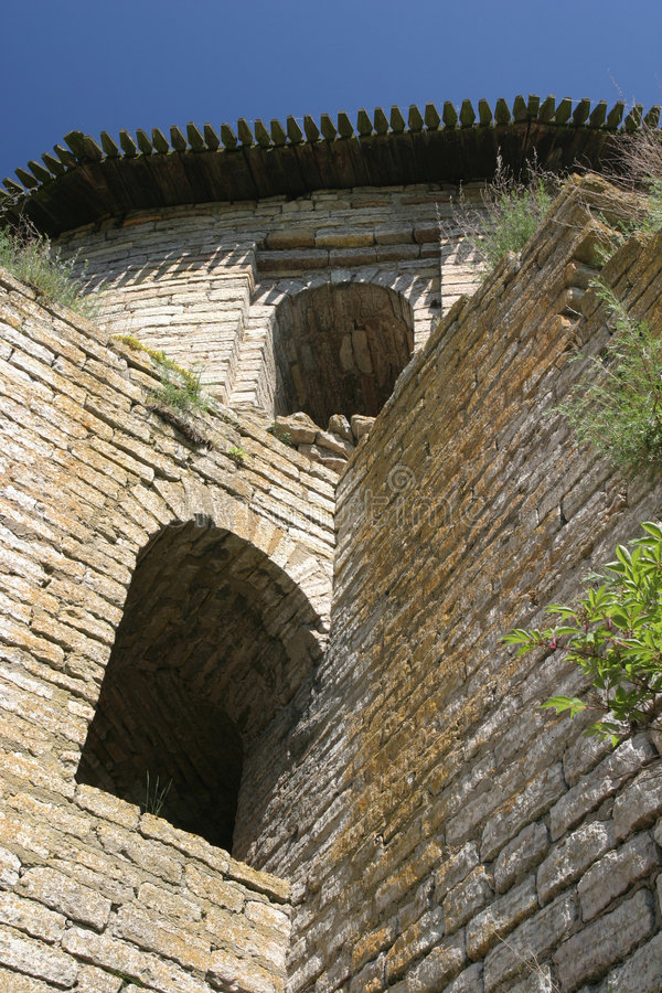 Tour de château image libre de droits