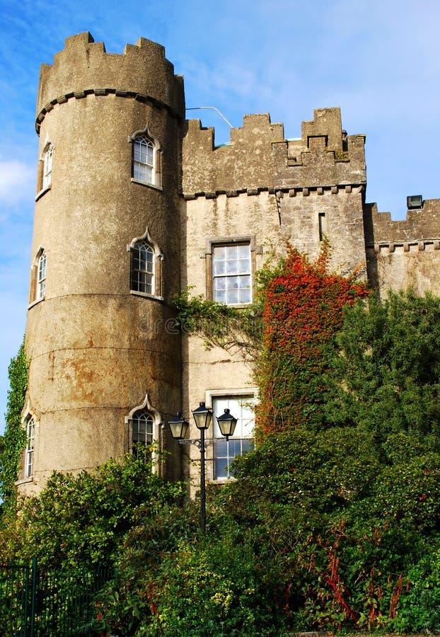 Tour de château Irlande, Dublin de Malahide images libres de droits
