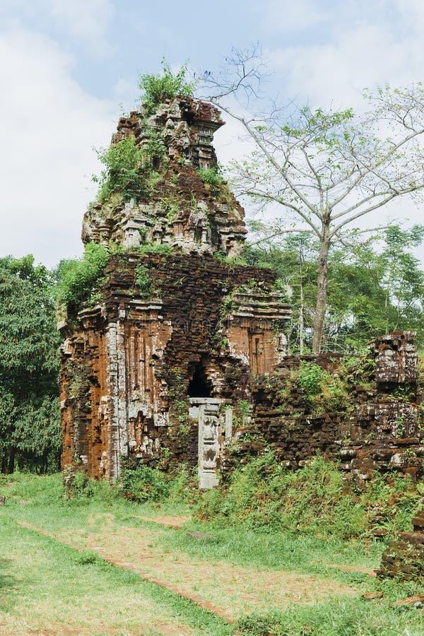 Tour de Cham à mon fils, Quang Nam, Vietnam photo stock