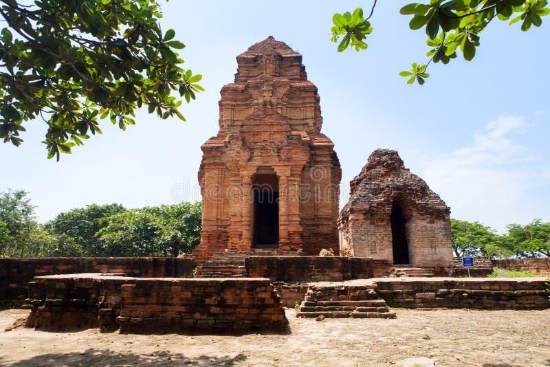 Tour de Cham de Posahinu, Nha Trang, Vietnam photos libres de droits