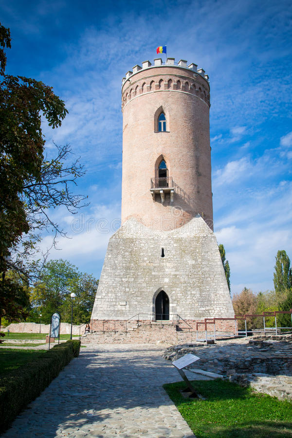 Tour de Chindia dans Targoviste, Roumanie photo stock