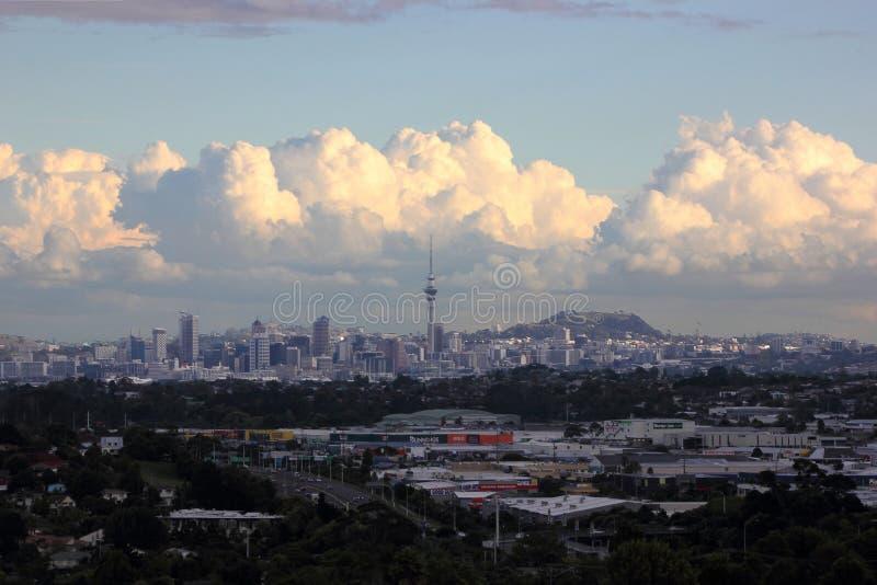 Tour de ciel d'Auckland photo libre de droits