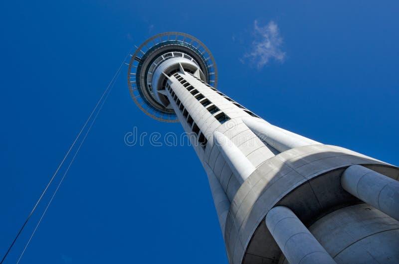 Tour de ciel d'Auckland photos libres de droits