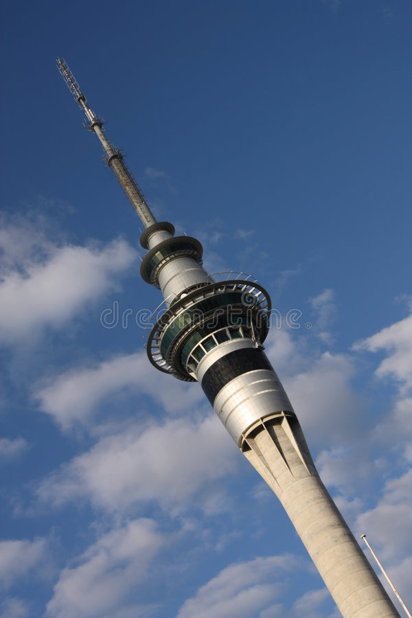 Tour de ciel d'Auckland photo stock