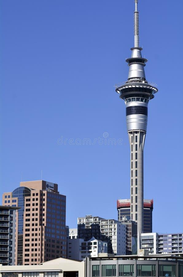 Tour de ciel d'Auckland - Nouvelle Zélande photos stock