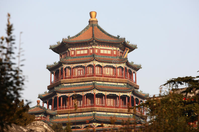 Tour de classique chinois image libre de droits