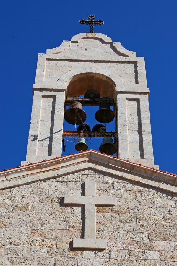 Tour de cloche d'église photographie stock