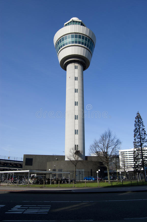 Tour de contrôle du trafic aérien photographie stock libre de droits