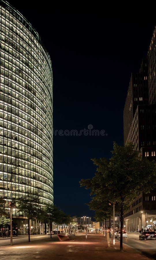 Tour de Deutschebank sur Potzdamer Plantz image libre de droits