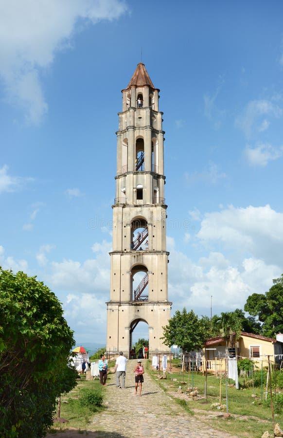 Tour de domaine de Manaca Iznaga photos stock