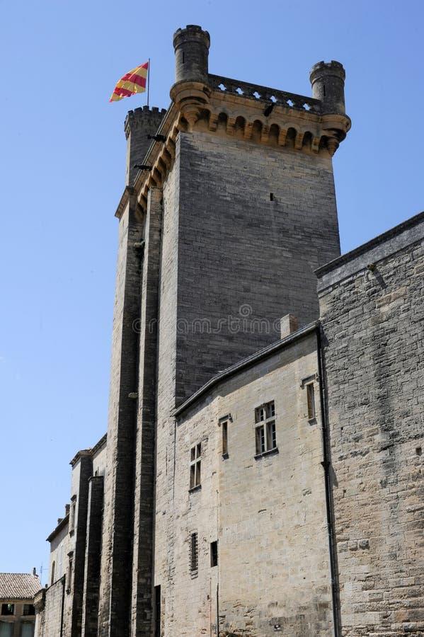 Tour de Duche chez Uzes sur le Languedoc-Roussillon image stock
