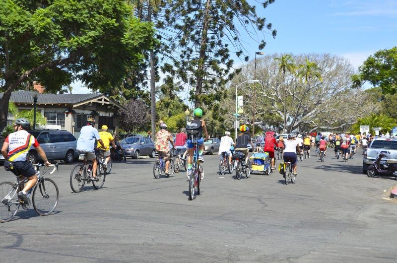Tour de Fat Σαν Ντιέγκο στοκ εικόνες