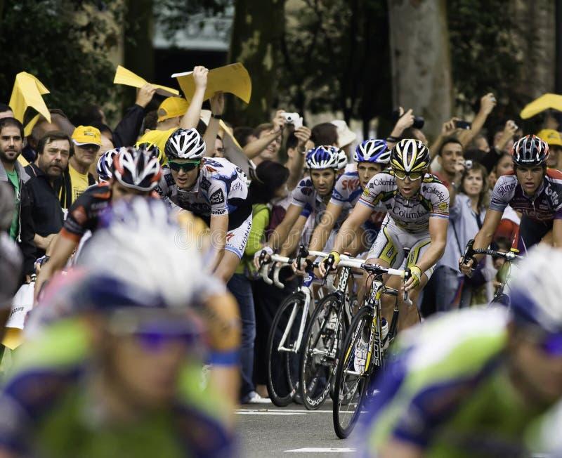 Tour de France lizenzfreie stockfotografie