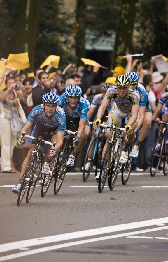 Tour de France 2 stockbild