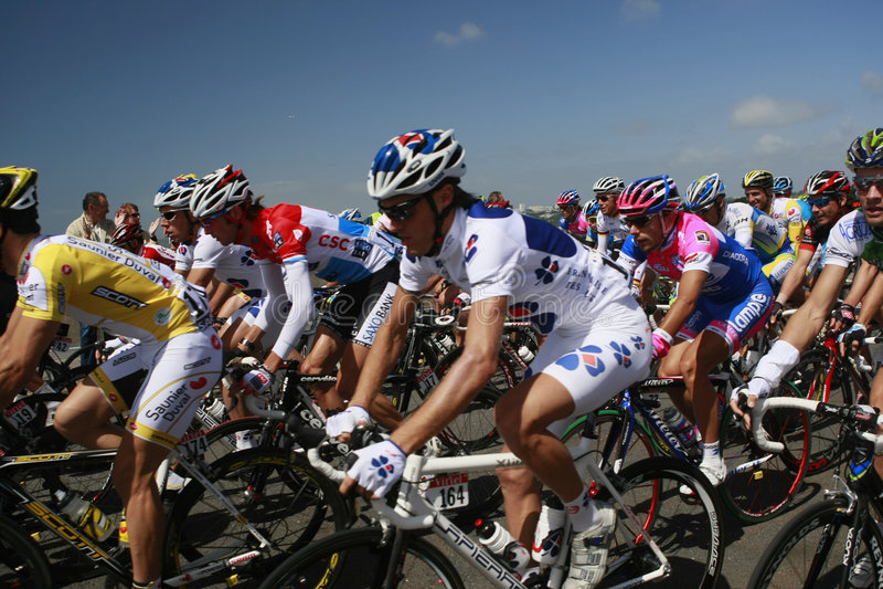 Tour de France 2008 fotografía de archivo