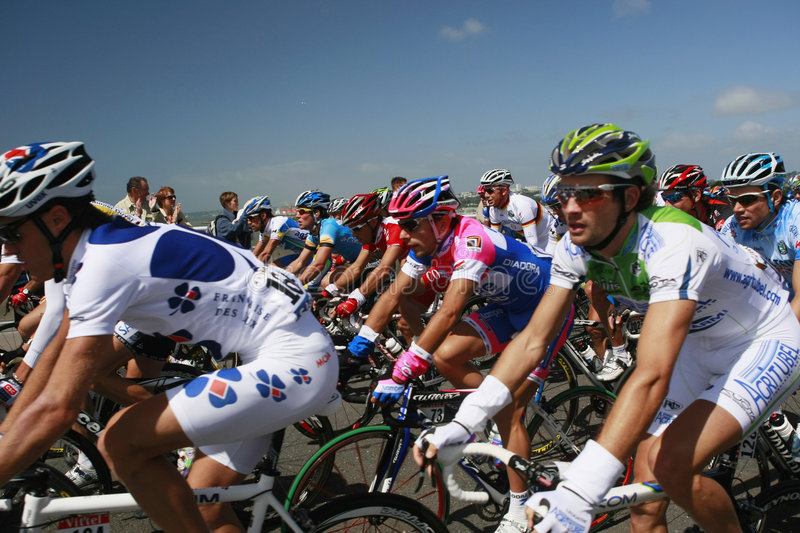 Tour de France 2008 stock images
