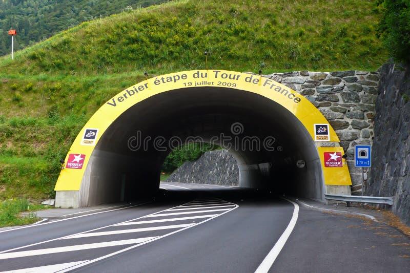 Tour De France 2009, Verbier royalty free stock photos
