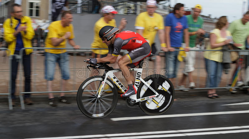 Tour de France 2010 stockfotos