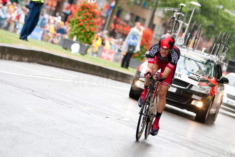 Tour de France 2010. Einleitung stockfoto