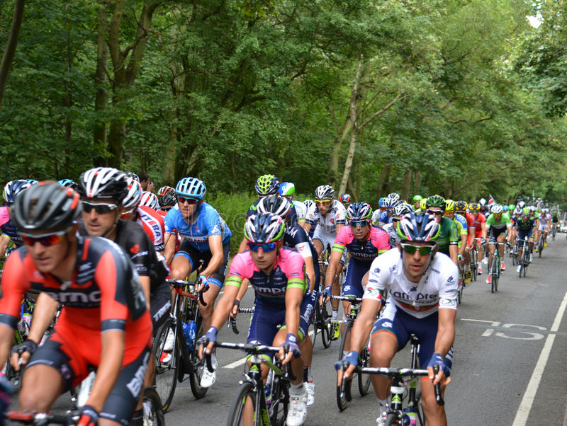 Tour de France 2014 imagem de stock royalty free