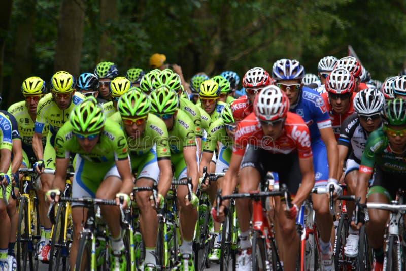 Tour de France 2014 royalty free stock photos