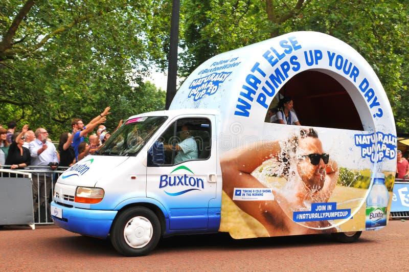Tour de France em Londres, Reino Unido fotografia de stock