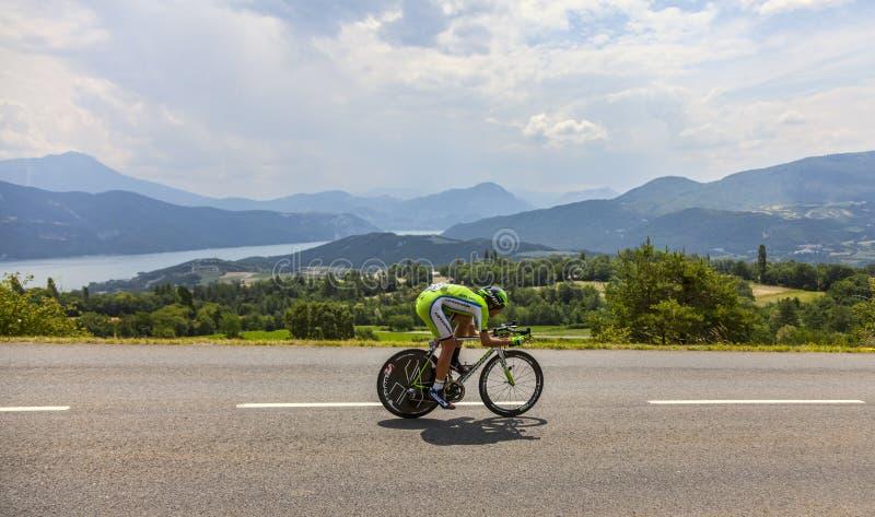 Tour De France Landscape Editorial Stock Image