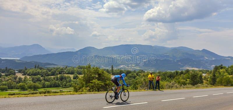 Tour De France-Landschaft Redaktionelles Stockfoto