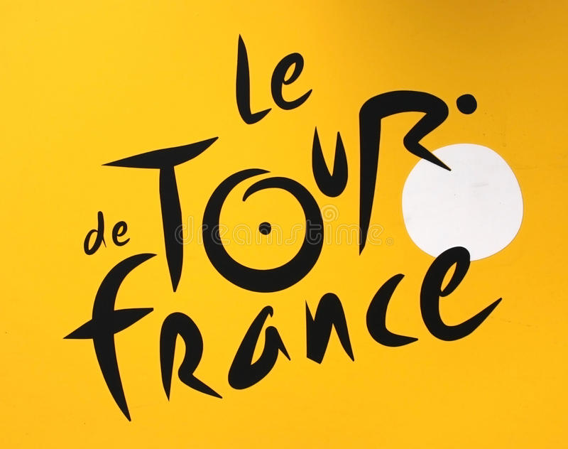 Download Tour de France logo editorial image. Image of competition - 23355050