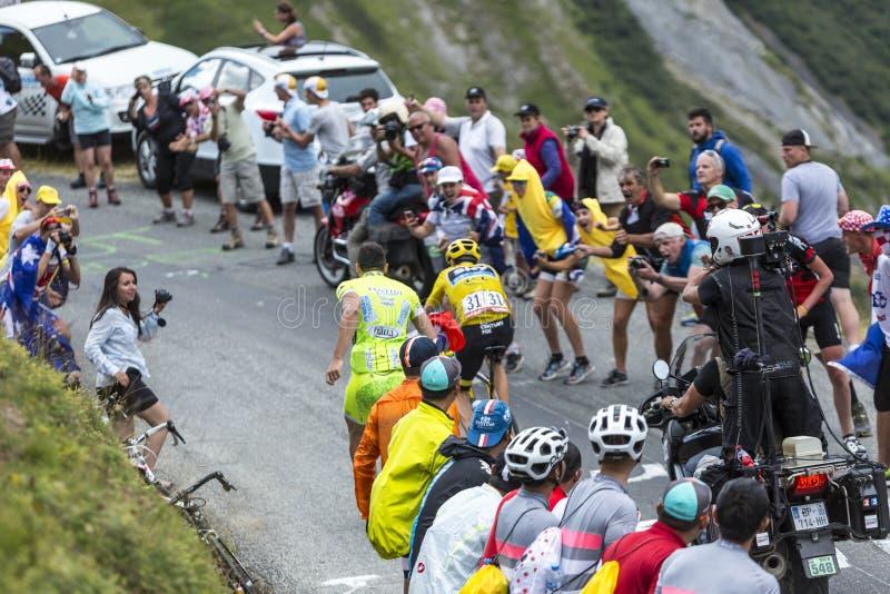 Tour de France Mood - Tour de France 2015 stock photography