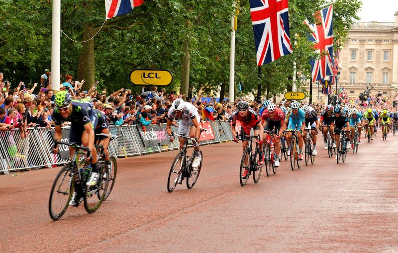 Tour De France w Londyn, UK zdjęcia royalty free